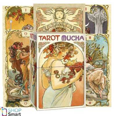 Mucha Tarot Deck Cards  Esoteric Fortune Telling Lo Scarabeo New