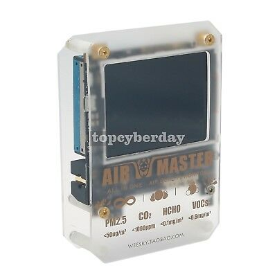 AM7 Plus AirMaster2 Master CO2 Laser PM2.5 Formaldehyde Air Quality Test