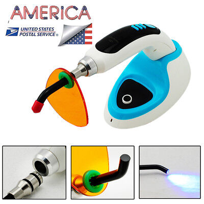 2018 10W Wireless Cordless LED Dental Curing Light Lamp 2000mw USA Fast shipping
