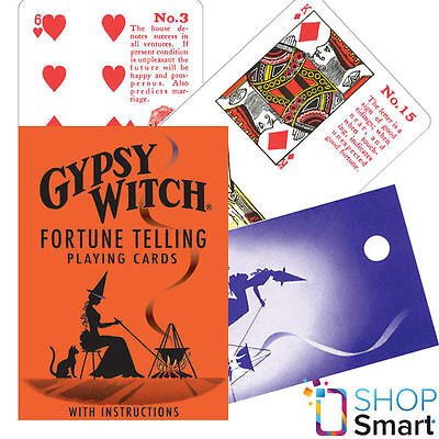 Gypsy Witch Tarot Deck Playing Cards Esoteric Telling Us Games Systems