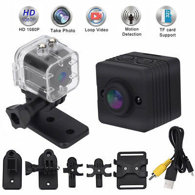 SQ12 Impermeabile DV Camera 1080P HD Sports Visione notturna DVR Video Recorder