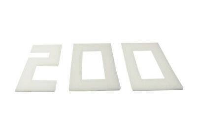 LTWHOME Compatible Polyester Foam Filter pad FIT For Fluval U3 Filter