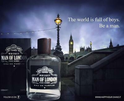 HAPPY HOUR AFTER SHAVE WHISKEY DOPOBARBA LENITIVO 100 ml - BHN barba