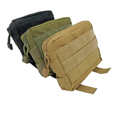 Durable Nylon Tactical Waist Bag Pocket Camouflage Camping Hiking Molle Pouch