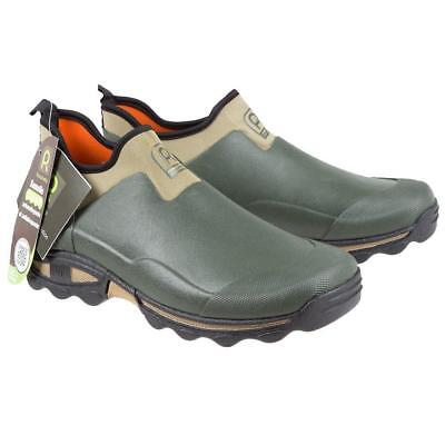 Rouchette Unisex Slip On Gardening Shoes, Green, Clogs For Garden Work UK 11