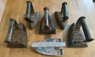 Antique Wrought Iron Tailor's Clothes /Cloth Flat Iron - PICK THE ONE YOU WANT -