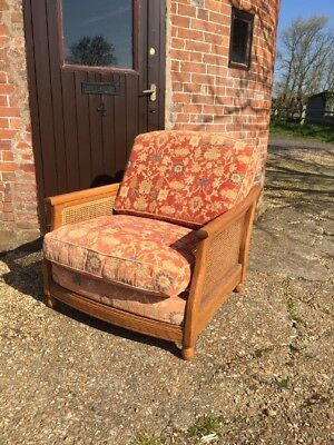 Ercol Bergere Chair With Original Covers - No Reserve!!