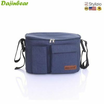 Mother Expanded Bag Strollers Organizer Baby Basket Pushchair Diaper Nappies Bot