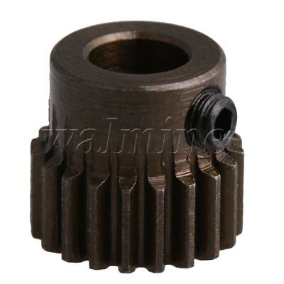 11x10mm 0.5 Modulus 20T Motor Pinion Gear 5mm Hole Dia for RC Car Models