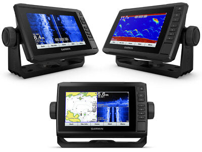 "Garmin EchoMap Plus 72sv Eco/Gps 7"" SideVü ClearVü CHIRP 010-01896-00 #60120261"