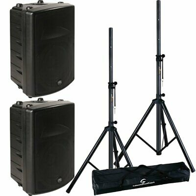 Montarbo FiveO Coppia D10A Casse Biamplificate con Speaker Stand