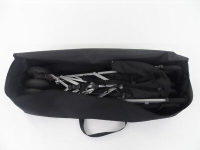 quote(Made to Measure) BLACK BAG Baby/Child Pushchair/Stroller/Buggy Storage BAG