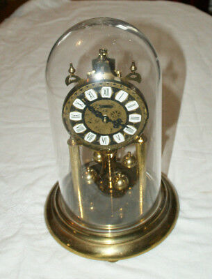 Large S.HALLER Dome/Anniversary Clock