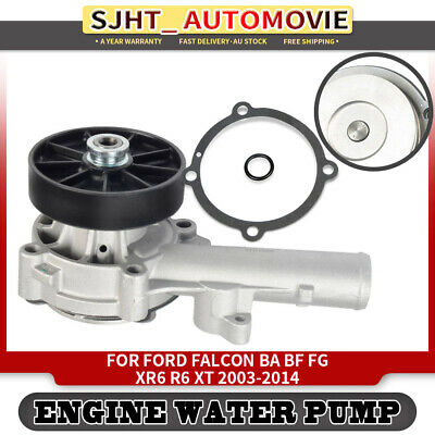 Water Pump With Pulley for Ford Falcon BA BF FG XR6 R6 XT G6E 2003-2014