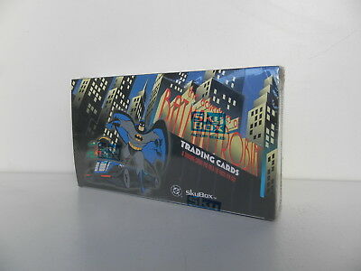 Boite Trading cards ADVENTURES OF BATMAN ANIMATED 1995 Sealed