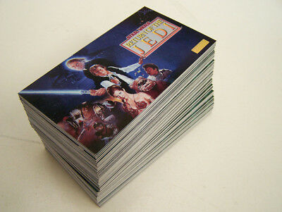 Star Wars Widevision Topps - 1995 set 144 cartes Return Of The Jedi