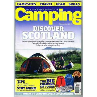 Camping Magazine December 2013 MBox3216/D  Discover Scotland