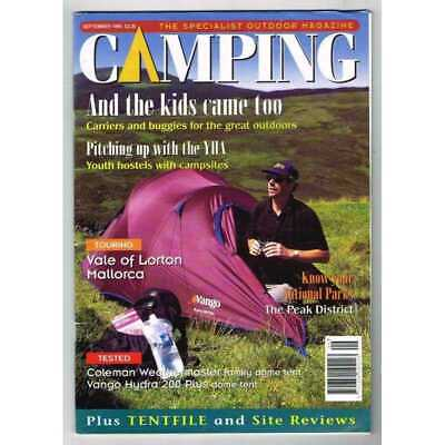 Camping Magazine September 1999 MBox3219/D Pitching up with the YHA - Vale of Lo