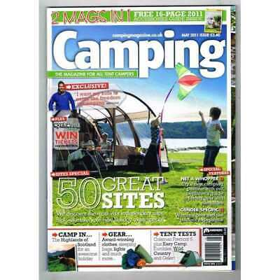 Camping Magazine May 2011 MBox3221/D 50 Great Sites - The Highlands of Scotland