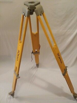 SOKKIA - Survey Tripod - Heavy Duty Wood - Total Station/GPS