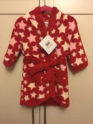 Baby Girls Dressing Gown 6-9 new