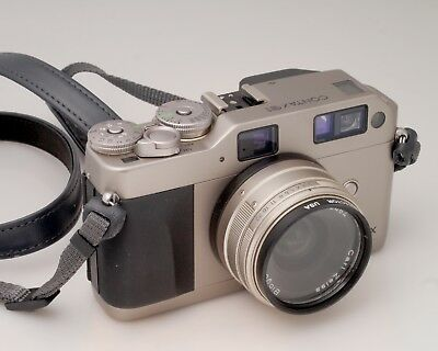 Contax G1 w/ Zeiss Biogon 28mm f2.8 really clean