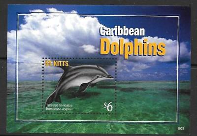 St.kitts Sgms1043 2011 Dolphins  Mnh