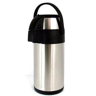 Sunnex 1.9L Airpot Stainless Steel Hot Drinks Vacuum Pump Dispenser Flask