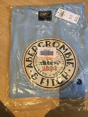 job lot abercrombie & fitch 6 tshirts a & f brand new with tags