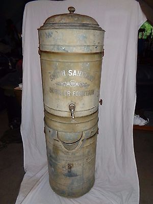Antique Smith Sanitary Bubbler Fountain Smith System Heating Co. Drinking Water