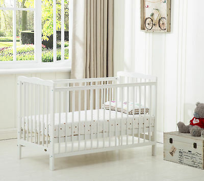 Baby Cot Crib With Water repellent Mattress