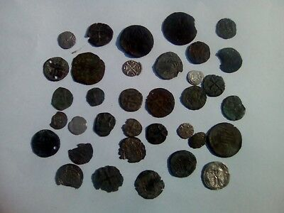 Medieval Coins Lot Of 35