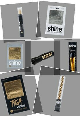 Shine 24K Gold Papers Wraps-Blunt