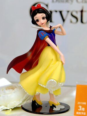Banpresto SNOW WHITE Disney Characters Crystalux Prize Figure Princess Mickey