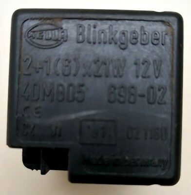 Hella flasher relay indicator relay for vehicles with tow bar 21 6 hella flasher flashing relay indicator relay 4dm 005 698 02 made in germany asfbconference2016 Image collections