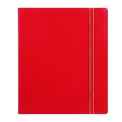 Filofax Classic Notebook - Red - Executive Size (9.25 x 7.25 in) 115902