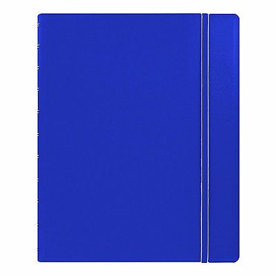 Filofax Classic Notebook - Blue- Letter Size (10.875 x 8.5 inches) 115103 Ruled