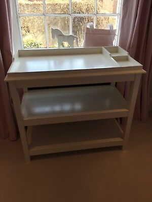 The Little white company baby Changing Table