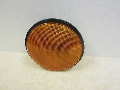 "Dialight 12"" Led Dark Yellow Traffic Signal Light & Wiring 433-3230-001Xl #59-3N"