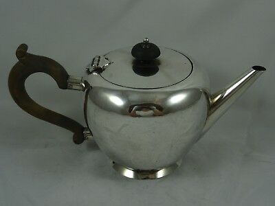 SMART,  GEORGE I style solid silver TEA POT, 1932, 434gm