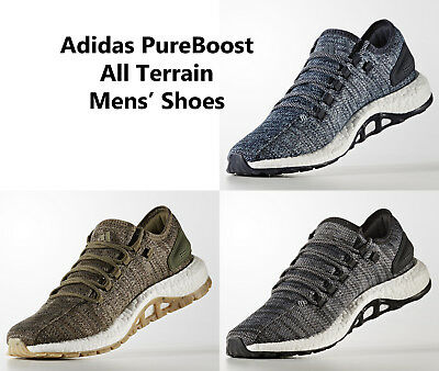 f16d6bac2d3 MENS ADIDAS PUREBOOST ALL TERRAIN Running Shoes Sneakers NEW ...