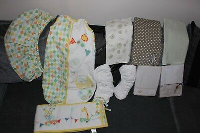 baby flat and fitted cot bed sheets