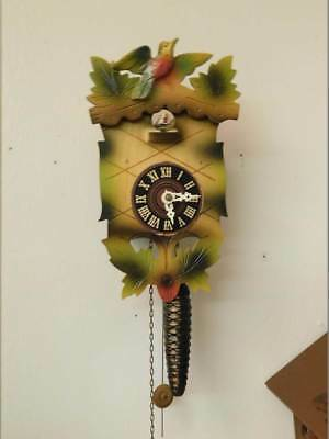 Small Cuckoo Clock Made In Western Germany Post Ww2