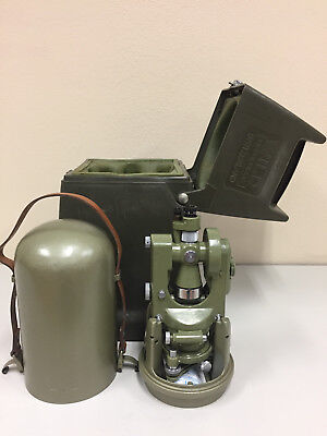 Wild Heerbrugg T1A Theodolite Survey Transitwith carrying case