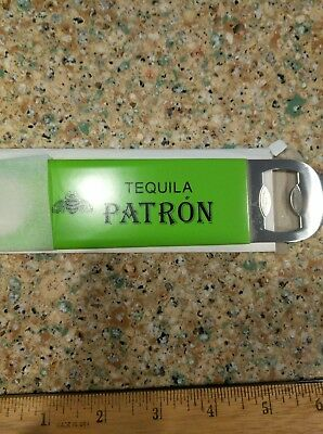 Patron Tequila Beer Bottle Opener Brand New FREE FAST SHIPPING NEW OLD STOCK!!!