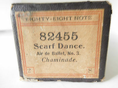 SCARF DANCE Air de Ballet, No. 3 - Eighty-Eight Note Player Piano Roll 82455