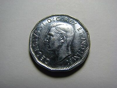 1945 Canada 5 Cents