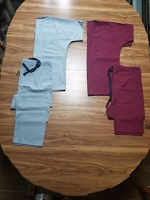 nursing scrubs used size small lot