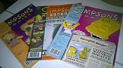 3 Simpsons Comics BONGO Group BART SIMPSON