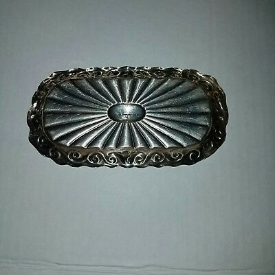 Black Starr Frost Sterling Repousse Tray
